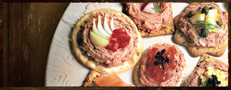 Pate & Crackers