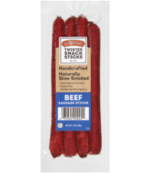 Beef Twisted Snack Sticks