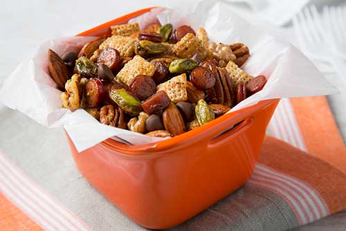 Spicy Snack Mix